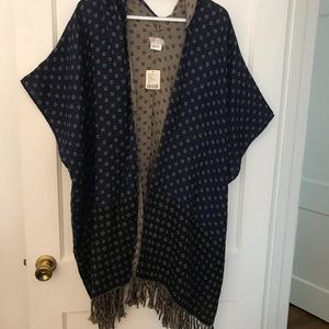 Free People Poncho